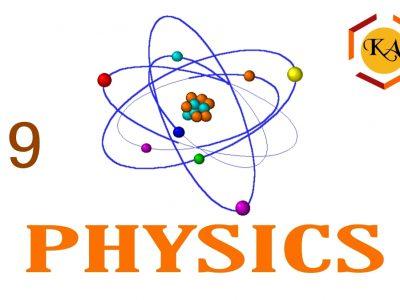 Physics(ICSE) Class 9